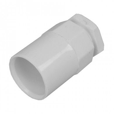 20mm female adaptor White