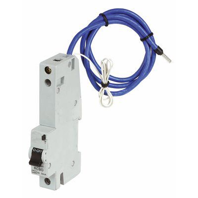 CED single pole RCBOs