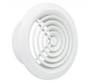 Circular ceiling grille 100mm
