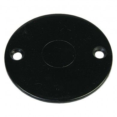 PVC box lid black