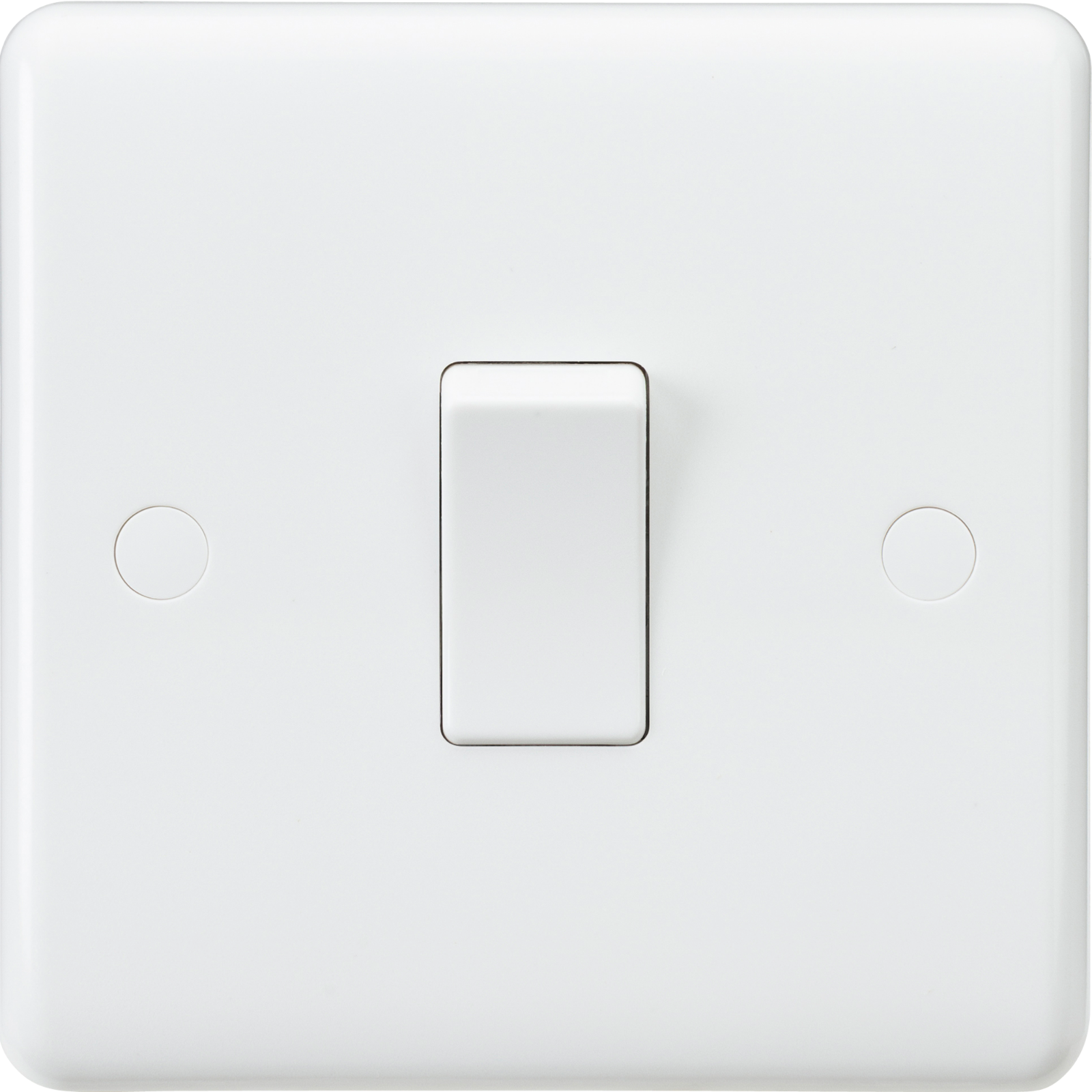White Curved Edge Wiring Accessories Socket Switch Usb Spur Dimmer 5a Lighting Sockets Media Modular